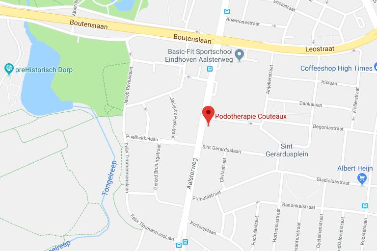 Podotherapie Couteaux - Vestiging Eindhoven